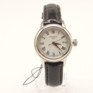 NEW TISSOT Carson Quartz Leather Watch $295 💋